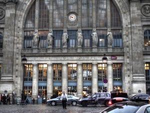 Gare du nord, transport en commun